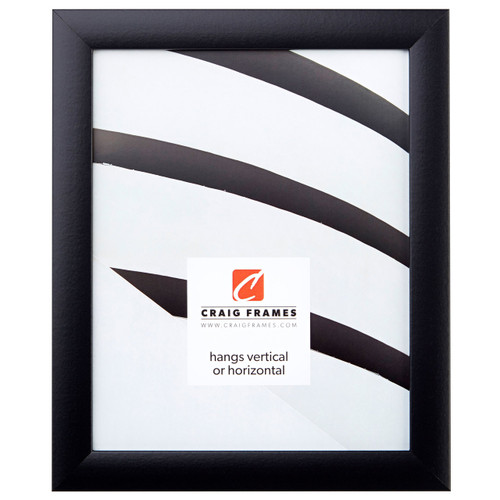 Contemporary Gallery Black Picture Frame - Craig Frames