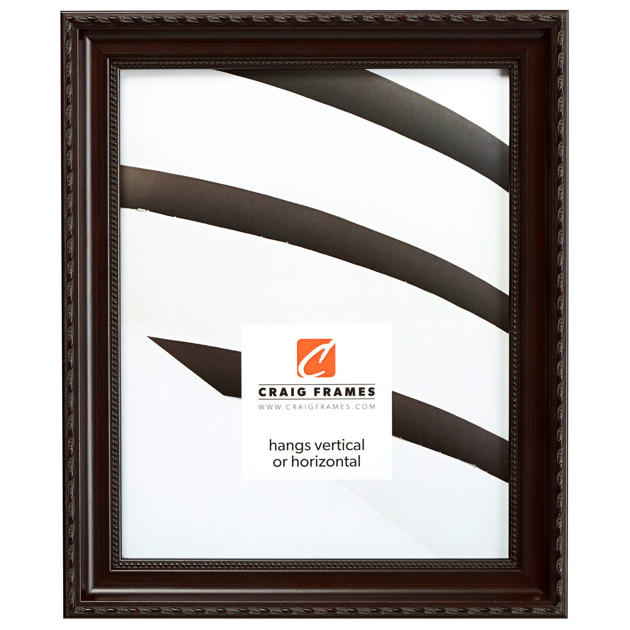 """Annesbury 1.125"""", Dark Walnut Picture Frame"""