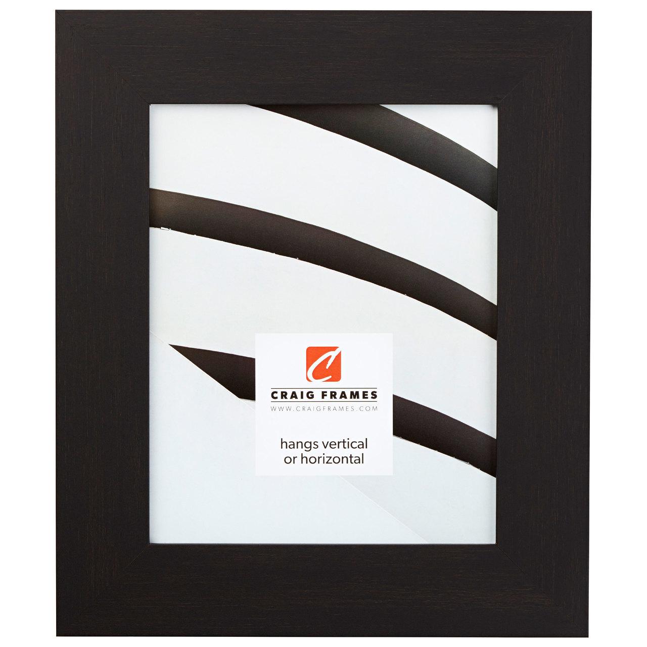 "Bauhaus 2"", Black Coffee Picture Frame"