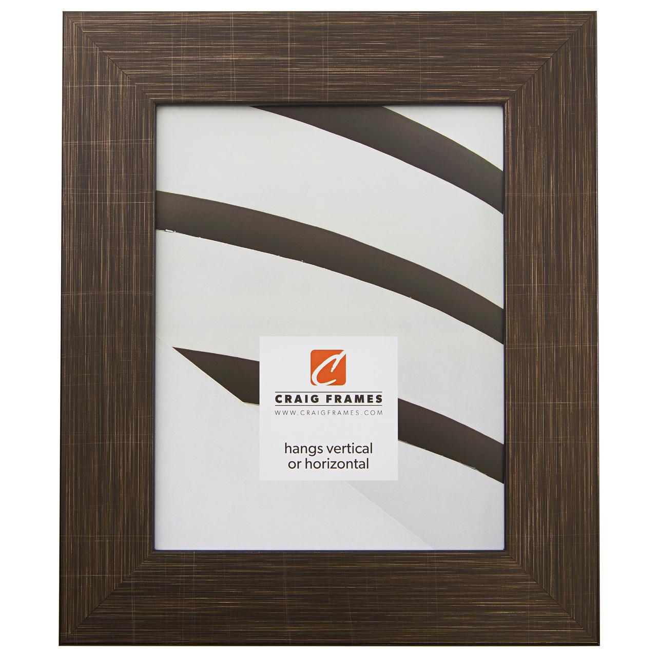 "Bauhaus 200 2"", Scratched Black Picture Frame"
