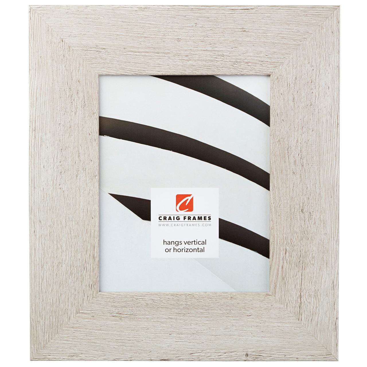 "Bauhaus 300 3"", Restoration White Picture Frame"
