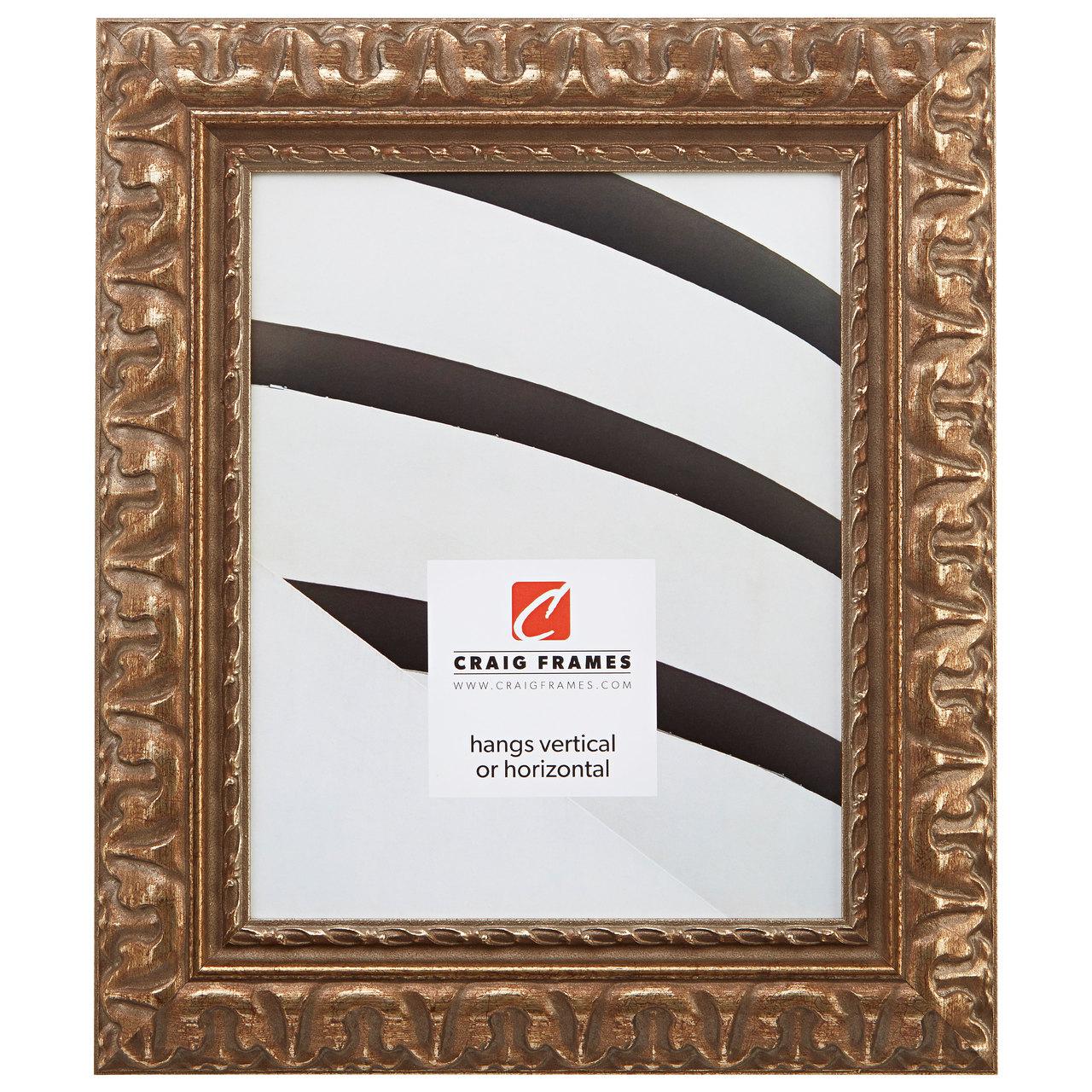"Bravado Ornate 2"", Scratched Bronze Picture Frame"