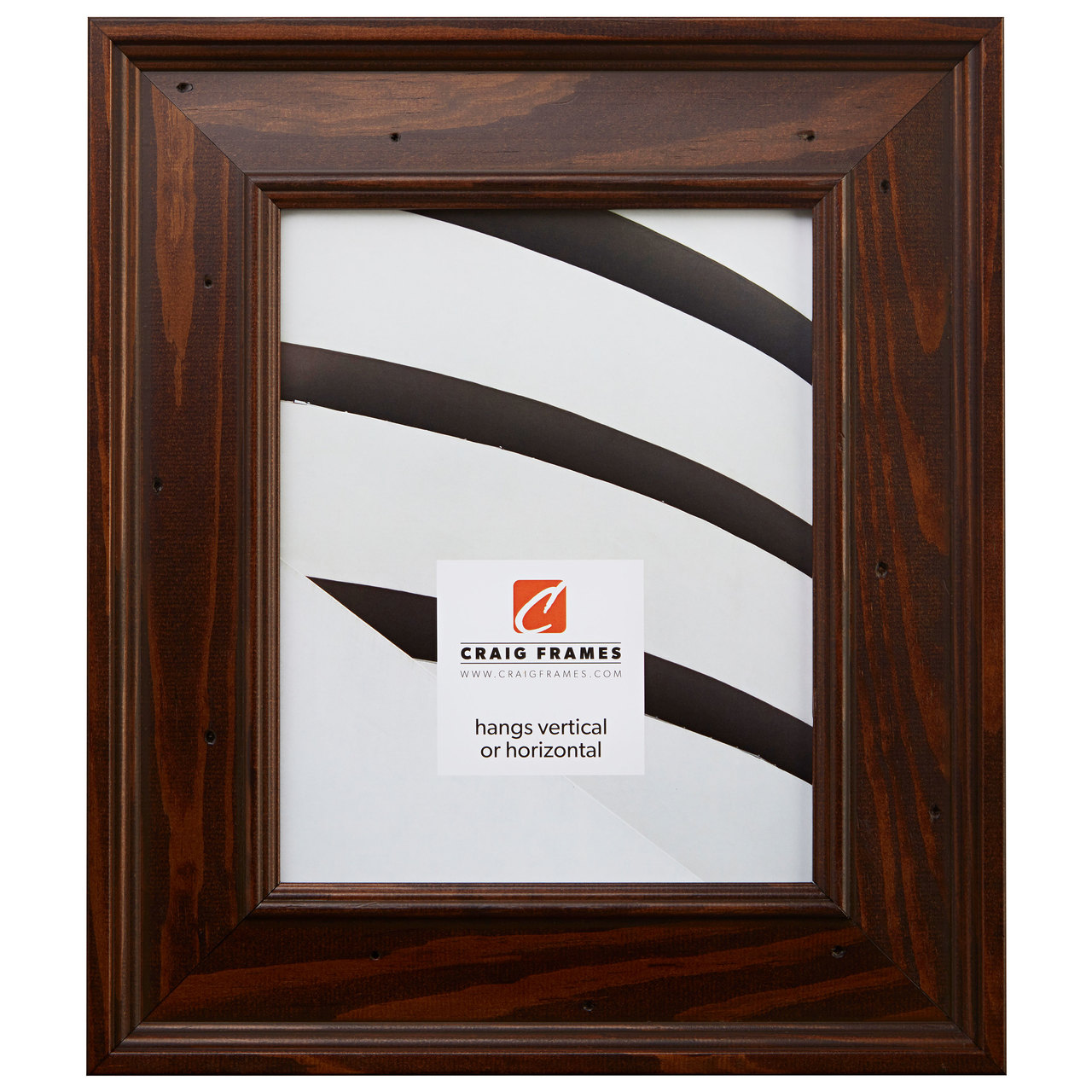 "Burbank 2.75"", Walnut Brown Picture Frame"