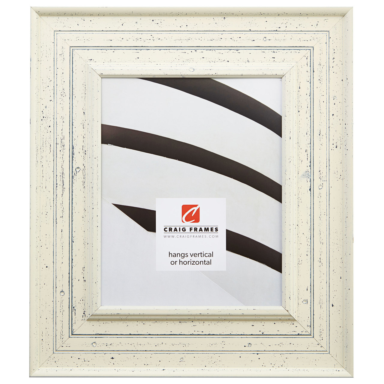 "Chesapeake Bay 3"", Alabaster White Picture Frame"