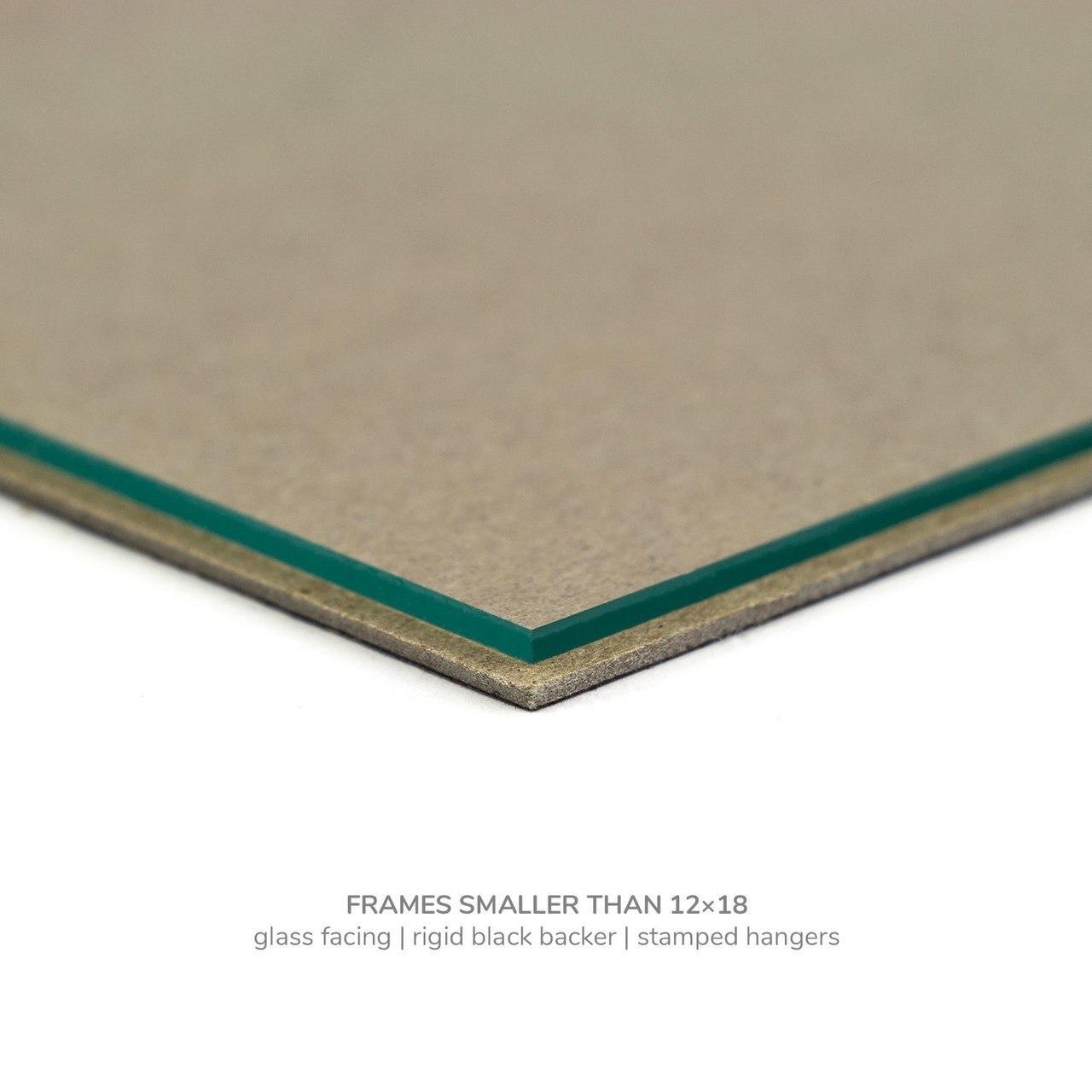 """Colori 125 1.25"""", Verde Picture Frame"""
