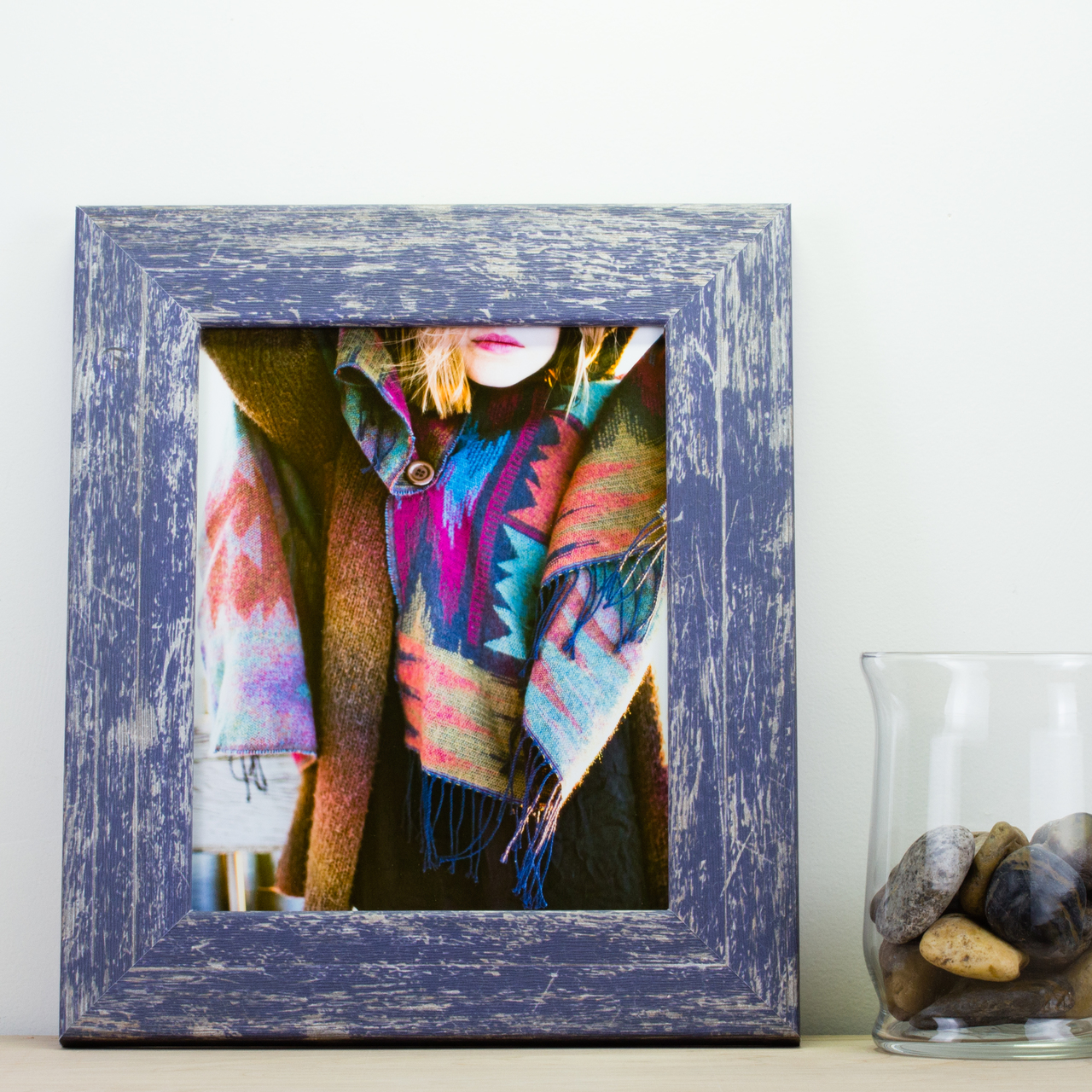 """Concord 2"""", Independence Blue Picture Frame"""