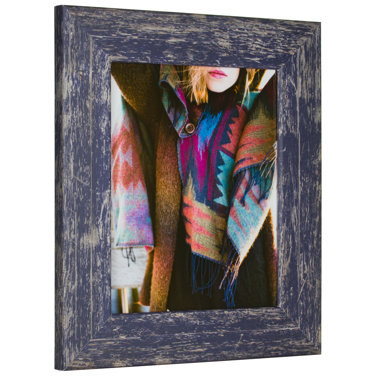 "Concord 2"", Independence Blue Picture Frame"