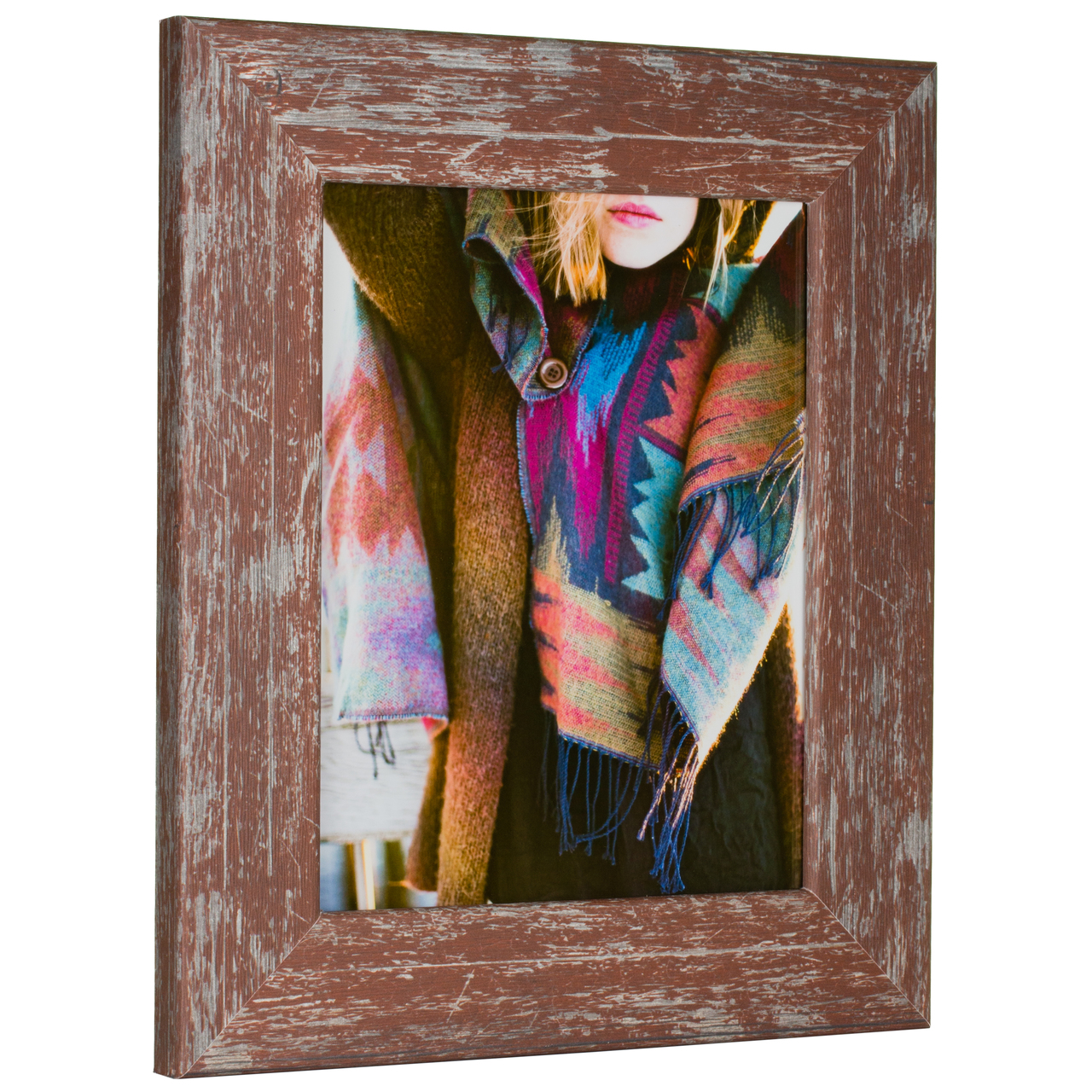 "Concord 2"", Indian Red Picture Frame"