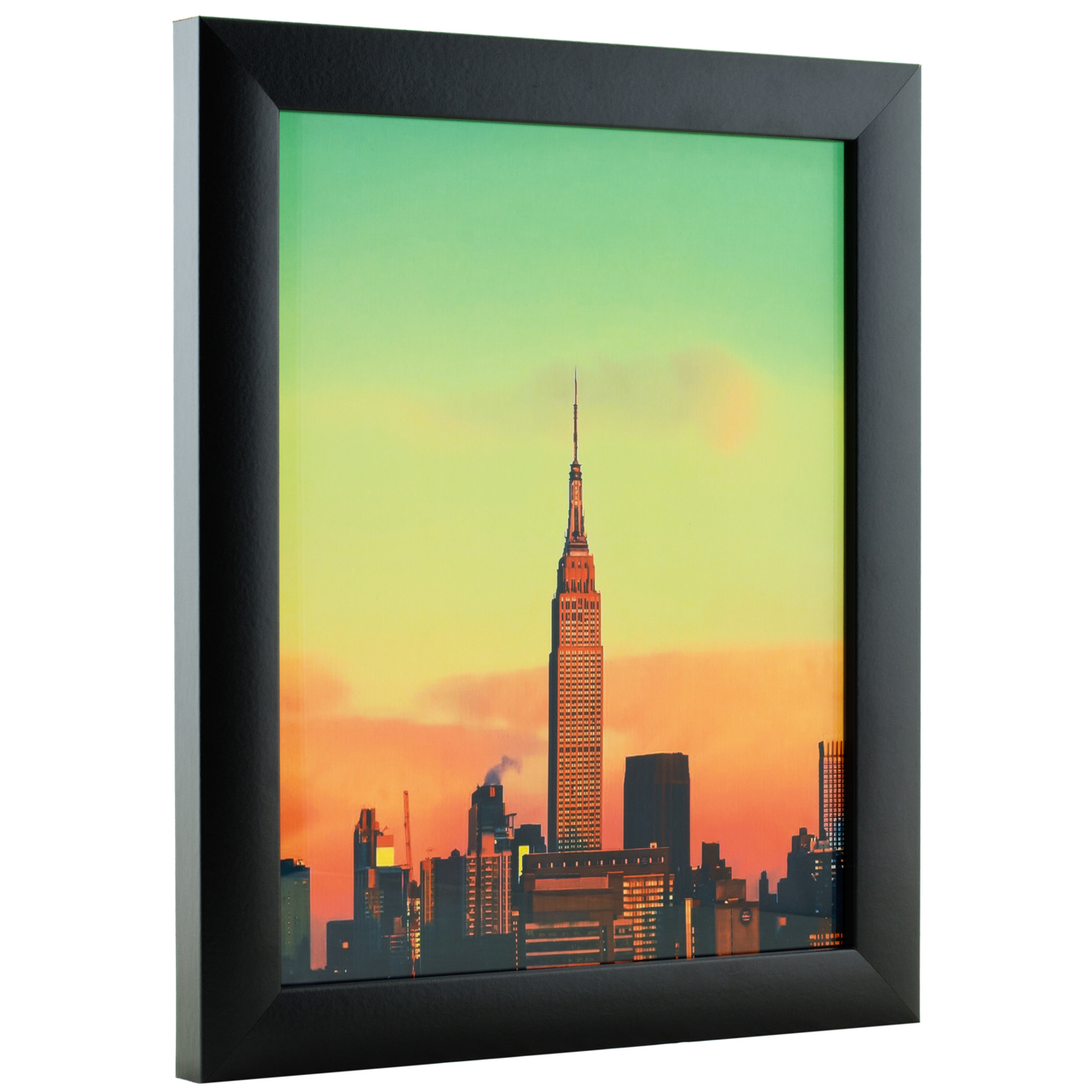 "Contemporary 1"", Gallery Black Picture Frame"