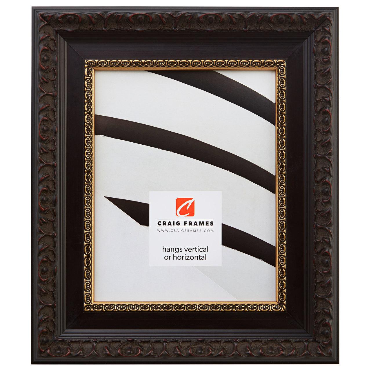 "Devereux 2.5"", Brushed Mahogany Picture Frame"