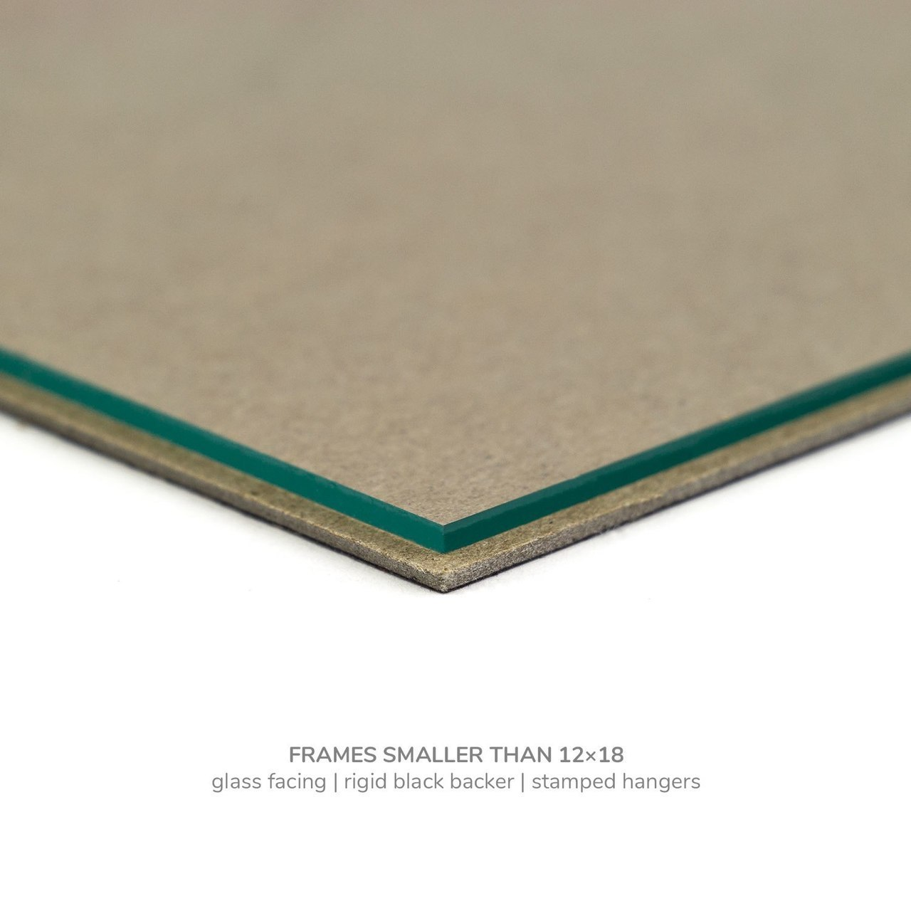 """Gesso 1.25"""", Alabaster Wooden Picture Frame"""
