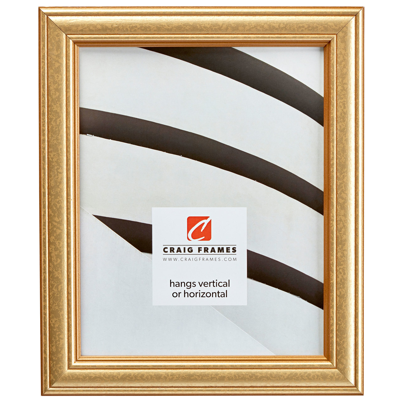 """Goldstone 1.25"""", Goldleaf Picture Frame"""