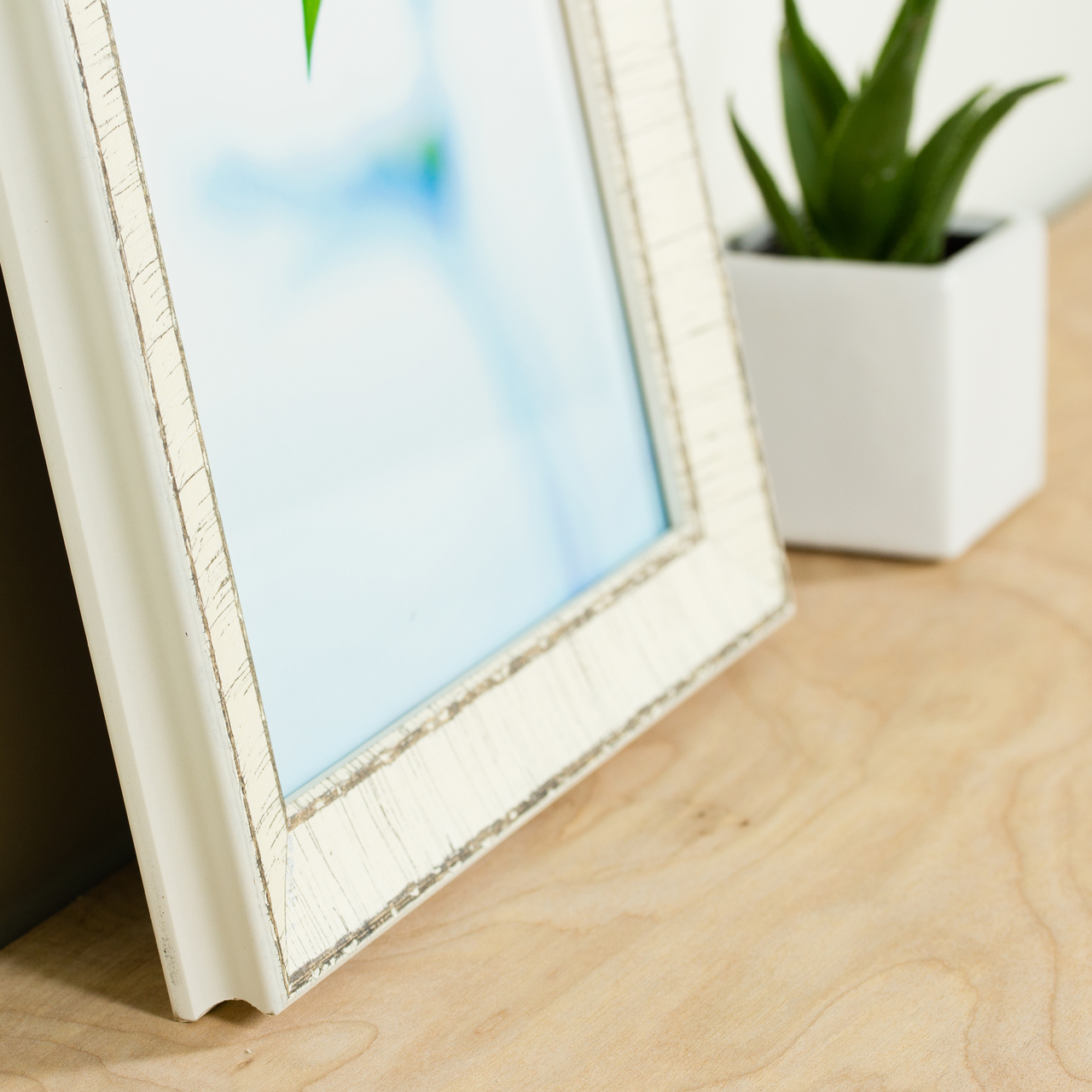 "Maréa 1.125"", Birch Bark Picture Frame"