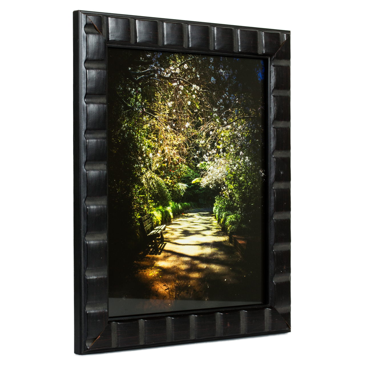 "Mosaic 1.375"", Erie Black Picture Frame"