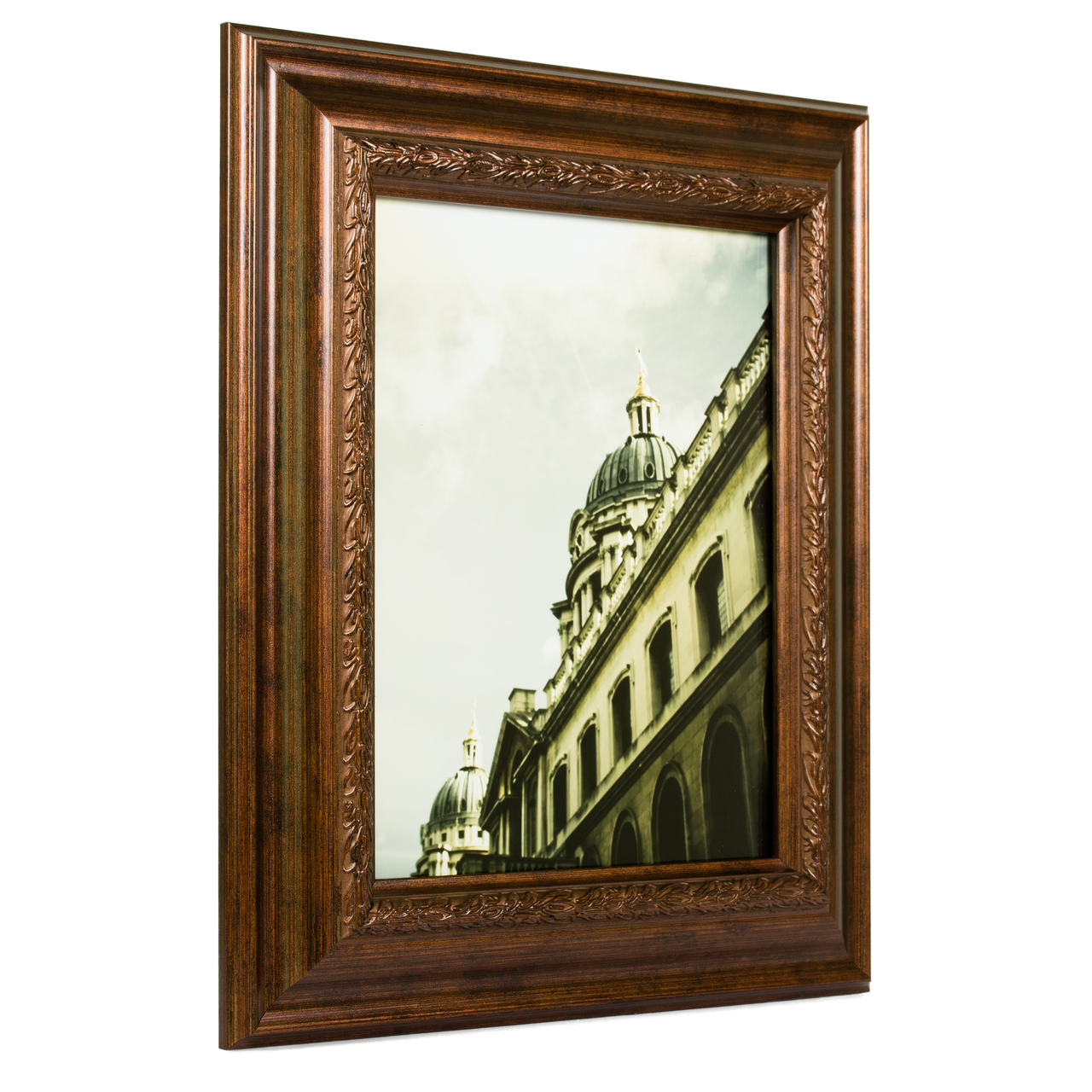 "Pompeii 2.125"", Smoked Bronze Picture Frame"