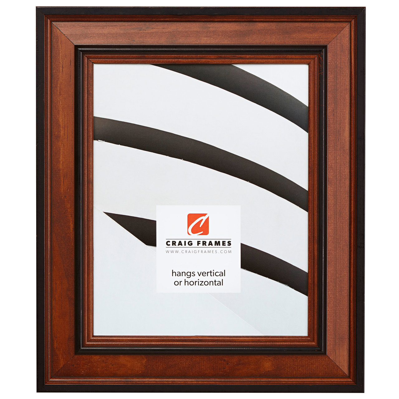 "Prairie 2"", Country Honey Picture Frame"