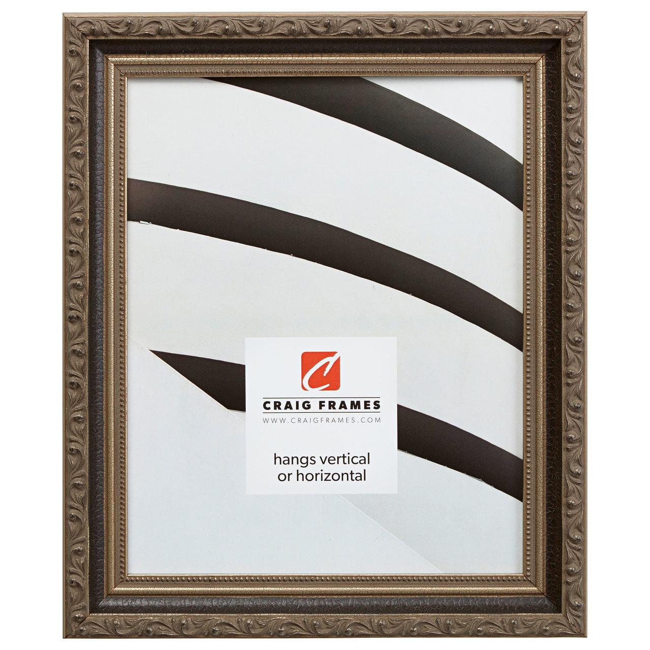 """Regence 1.25"""", Black & Silver Picture Frame"""