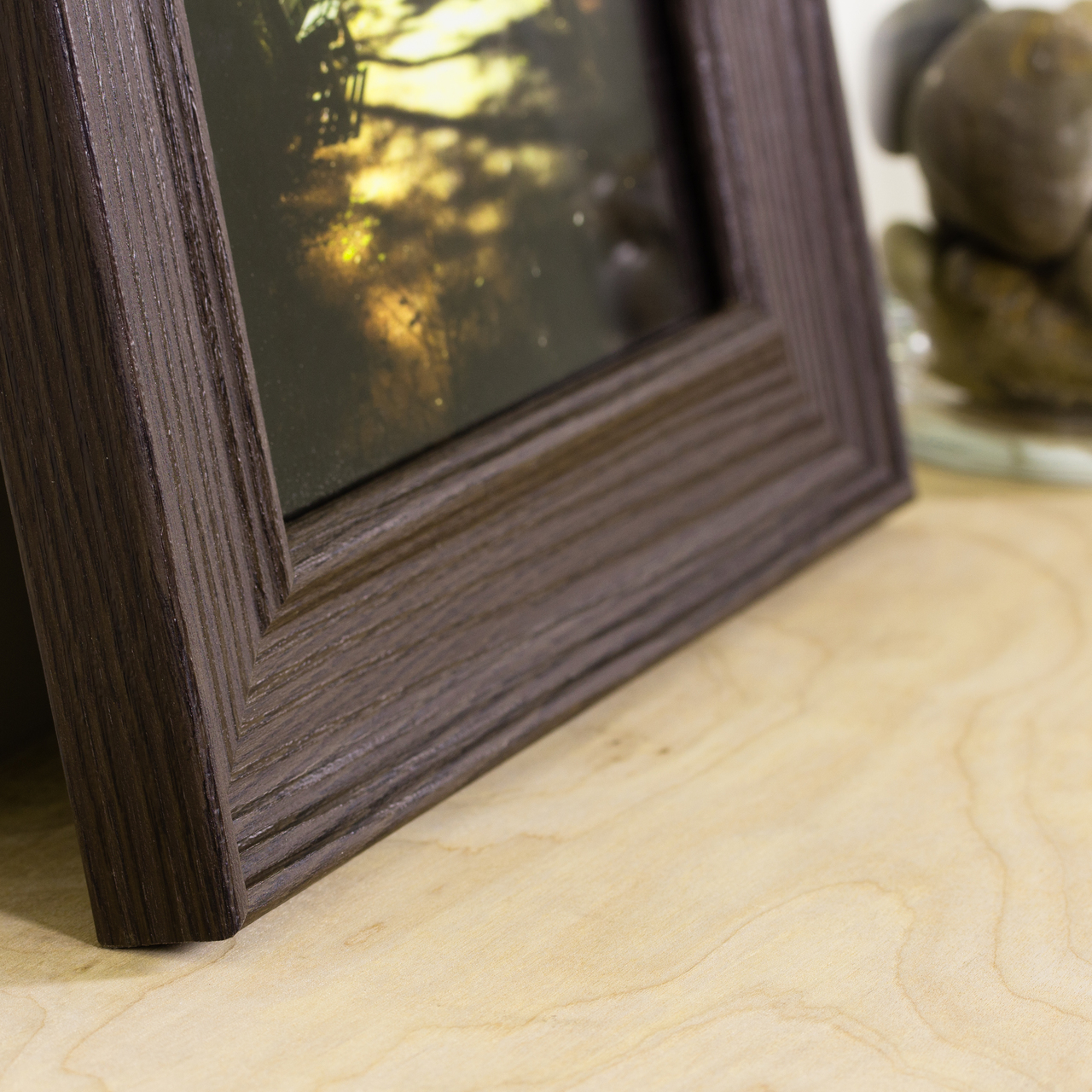 "Revival 2"", Brown Oak Picture Frame"