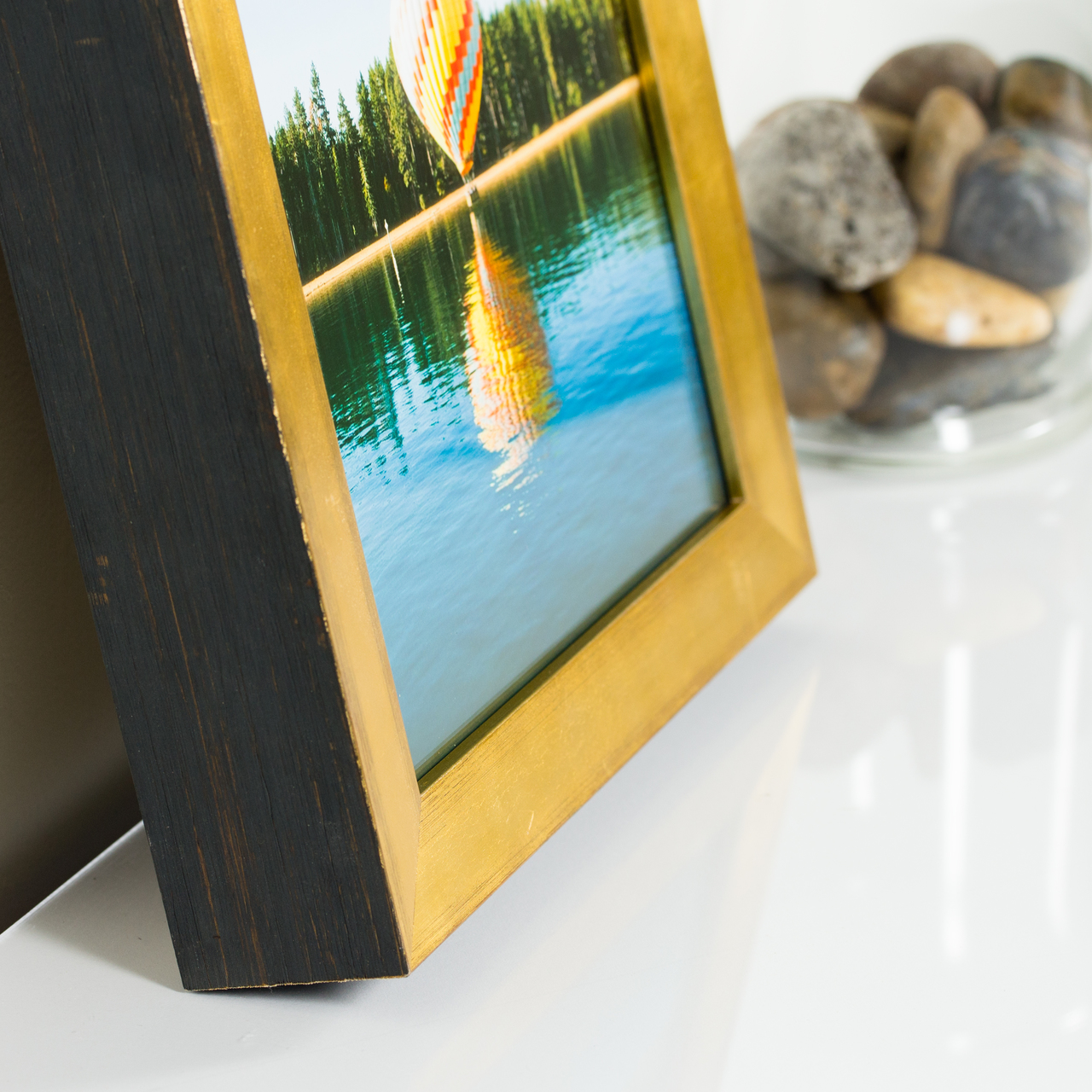 "Siena 1"", Gold Luminos Picture Frame"