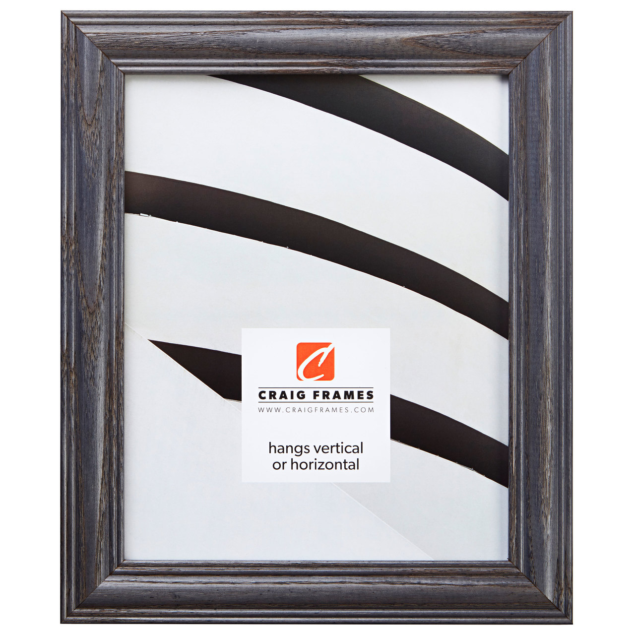"""Wiltshire 440 1.25"""", River Stone Picture Frame"""