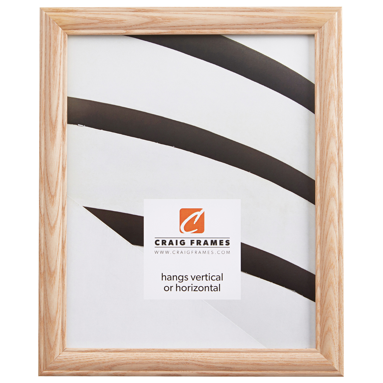 """Wiltshire 68 .875"""", Raw Oak Picture Frame"""