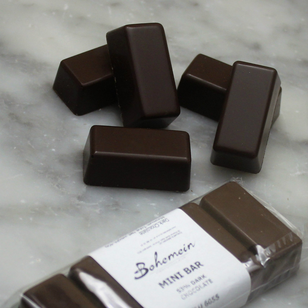 Bohemein 53% Dark Chocolate Mini Bar