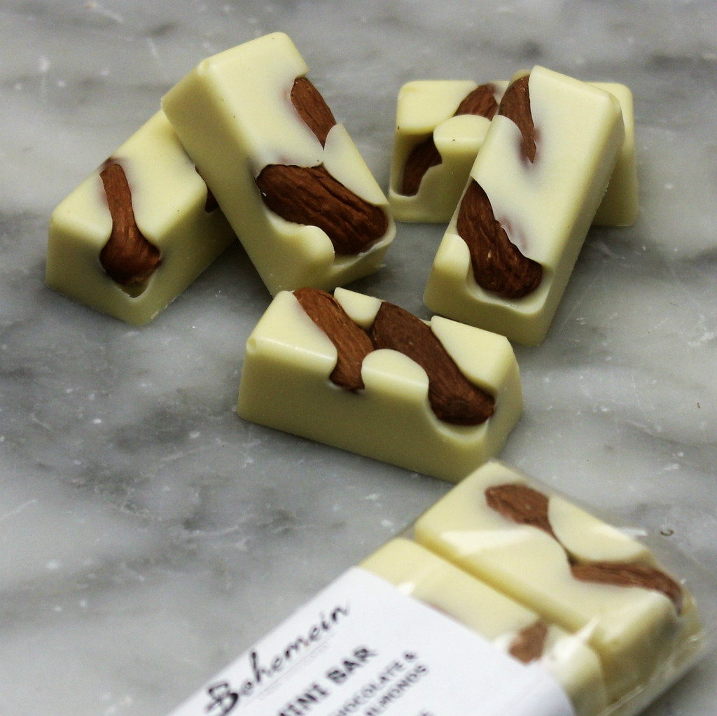 Bohemein Almond White Chocolate Mini Bar