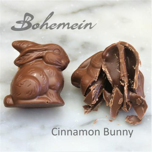 Bohemein Cinnamon Caramel Bunny .Our most popular Easter treat in Milk Chocolate