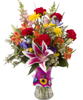 **Soderberg's Exclusive - Lake of the Isles  Garden Bouquet W/Free Gift