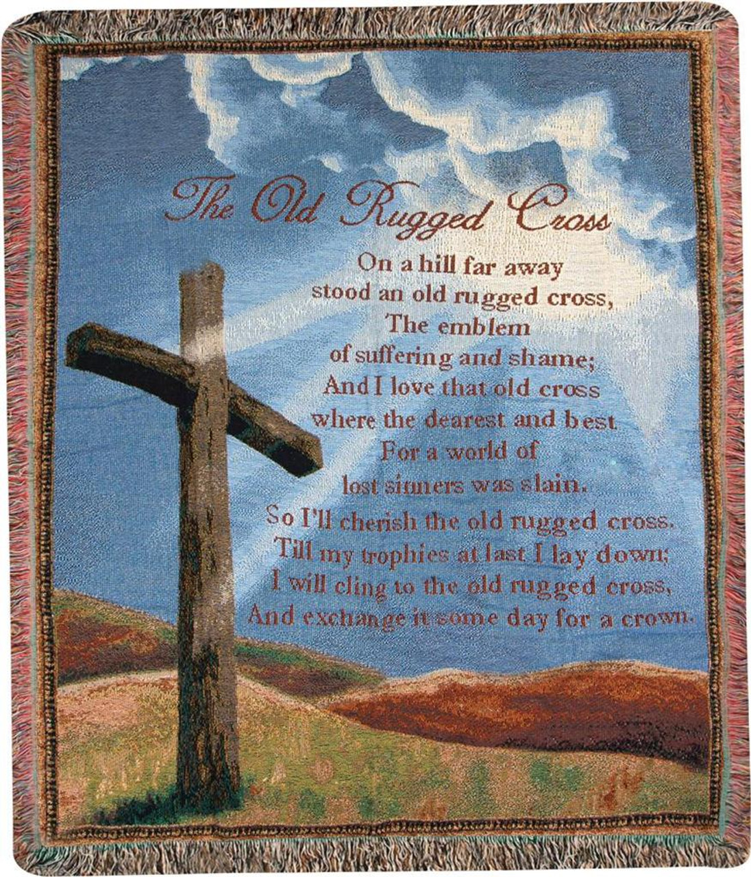 The Old Rugged Cross On A Hill Far Away Stood An