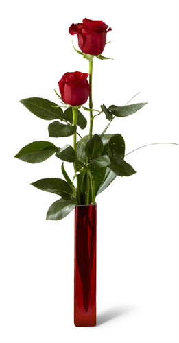 Deeply Devoted 2 Red Rose  Bouquet - Deluxe