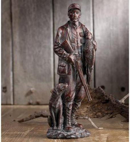 Great Bronze Hunter Figurine