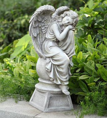 Angel on Ball and Pedestal