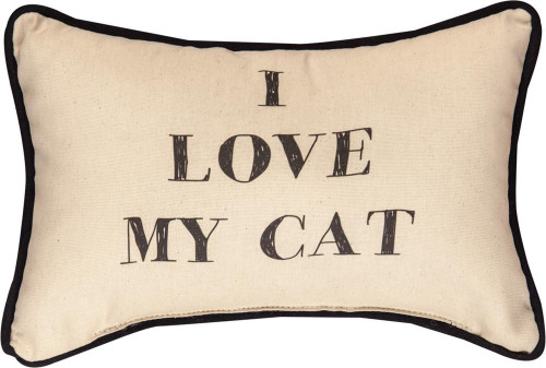 I love My Cat Pillow