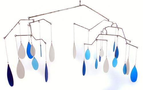 Glass Raindrops Moblie