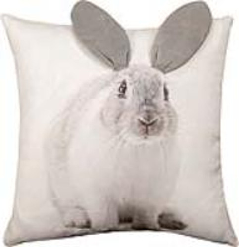 3D Bunny Printed Pillow Cover