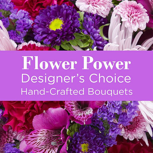 Shades of Purple Florist Designed Bouquet