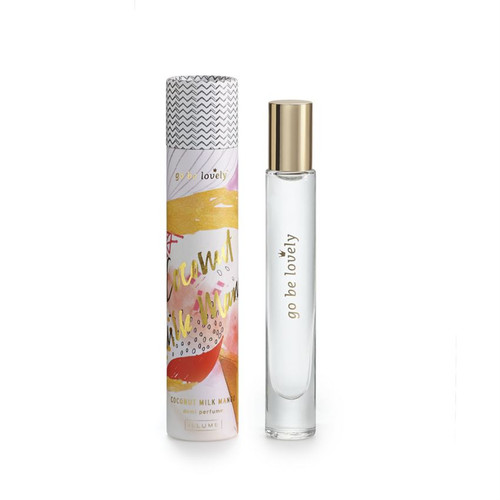 "Coconut Milk Mango Demi Rollerball Perfume ""Go Be Lovely"" by Illume"