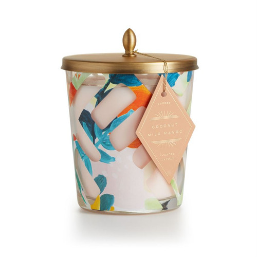 "Coconut Milk Mango ""Brim and Bright"" Cameo Jar   Candle by Illume"