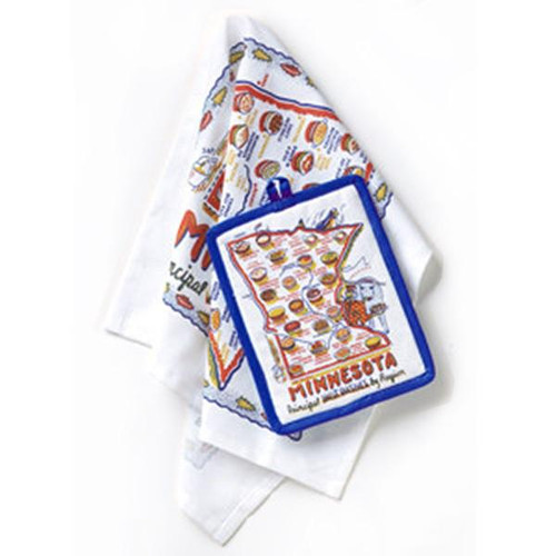 Soderberg's Exclusive -Minnesota Dish Towel & Hot Pad