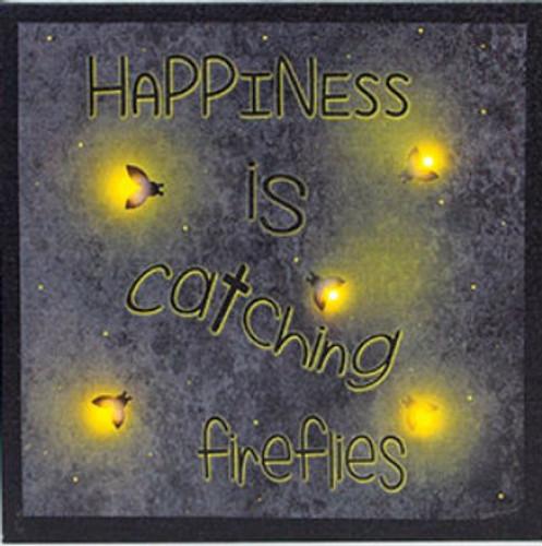 Lighted Catching Fireflies Canvas with Timer