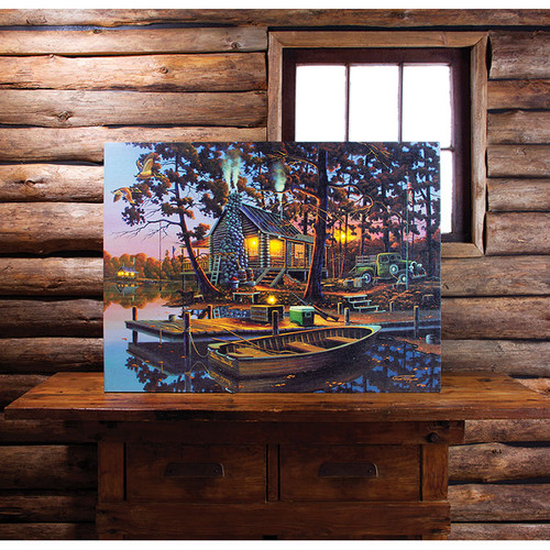 Lighted Opening Day Canvas