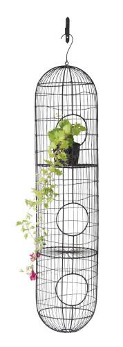 Decorative Wire Birdcage w/ Bracket