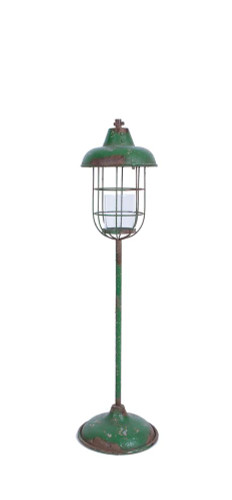 "42-1/2""H Metal Standing Lantern Pillar Holder"