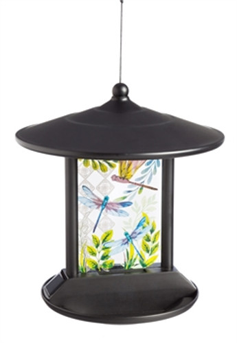 Blue Bird Solar Bird Feeder