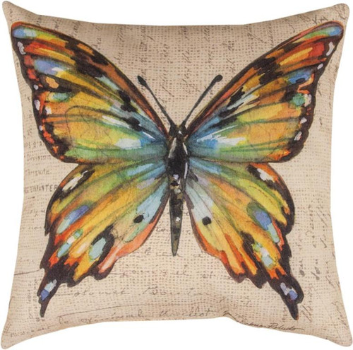 BUTTERFLY WINGS PILLOW