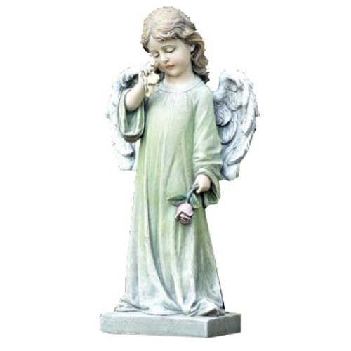 Young Weeping Angel Statue