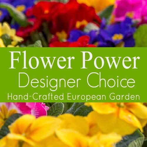 Florist Designed European Garden