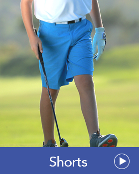 Junior Golf Shorts