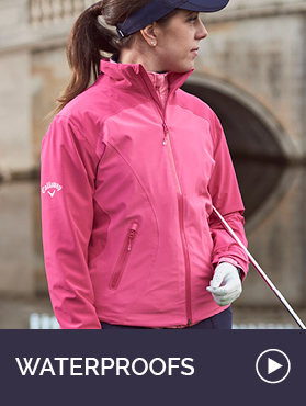 Ladies Golf Waterproofs